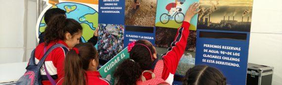 Núcleo Milenio Paleoclima participó en Festival de Ciencias FCFM U. de Chile